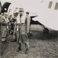 Paul Epley during military service