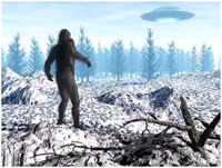 Bigfoot connection to UFOs