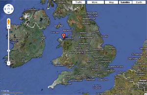 Puffin Island on Google Map